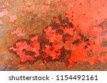 rust beige painted metal wall. | Shutterstock . vector #1154492161