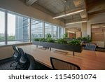 empty office with original... | Shutterstock . vector #1154501074