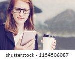 closeup portrait of worried...   Shutterstock . vector #1154506087