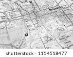 orlando on usa map   Shutterstock . vector #1154518477