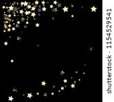 diagonal border from confetti...   Shutterstock .eps vector #1154529541