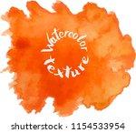 handpaint watercolor vector... | Shutterstock .eps vector #1154533954