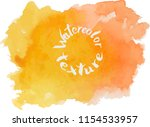 handpaint watercolor vector... | Shutterstock .eps vector #1154533957