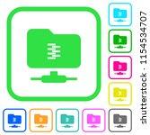 ftp compression vivid colored... | Shutterstock .eps vector #1154534707