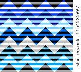 seamless geometric pattern.... | Shutterstock .eps vector #1154535697