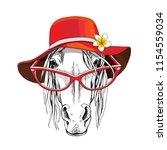Portrait Of A Elegant Horse In...