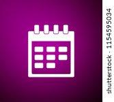 calendar icon isolated on...