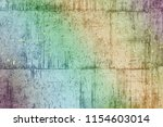 texture of a stone wall with... | Shutterstock . vector #1154603014
