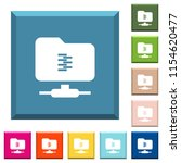 ftp compression white icons on... | Shutterstock .eps vector #1154620477