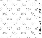 seamless pattern with thin line ... | Shutterstock .eps vector #1154633137