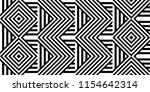seamless pattern with striped... | Shutterstock .eps vector #1154642314