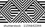 seamless pattern with striped... | Shutterstock .eps vector #1154642344