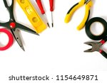 variery of working tools for... | Shutterstock . vector #1154649871
