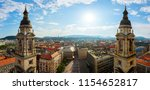 view on budapest from st.... | Shutterstock . vector #1154652817