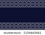 geometric ethnic pattern...   Shutterstock .eps vector #1154663461