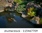 Japanese Garden With A Small...
