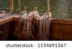 Old Ship Rigging Details