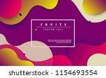 dynamic style banner design... | Shutterstock .eps vector #1154693554