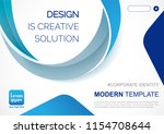 template vector design for... | Shutterstock .eps vector #1154708644