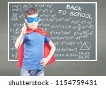 back to school concept with...   Shutterstock . vector #1154759431