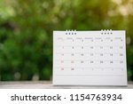 Close Up Of Calendar On The...