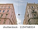 a streetlamp tying the... | Shutterstock . vector #1154768314