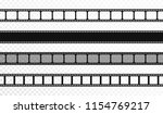 seamless film strips on... | Shutterstock .eps vector #1154769217
