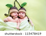 Two Twins Brothers Babies...