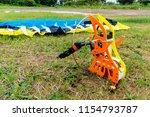 para glider for radio remote... | Shutterstock . vector #1154793787