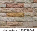 brick texture background.... | Shutterstock . vector #1154798644