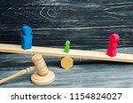 deprivation of parental rights. ... | Shutterstock . vector #1154824027