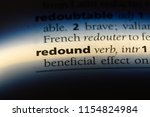 Redound Word In A Dictionary....