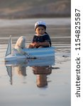 cute baby child  sweet boy ...   Shutterstock . vector #1154825587