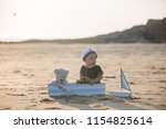 cute baby child  sweet boy ...   Shutterstock . vector #1154825614