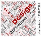 vector conceptual creativity... | Shutterstock .eps vector #1154827981
