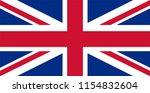 england flag vector icon ...   Shutterstock .eps vector #1154832604