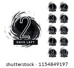 abstract number of days left... | Shutterstock .eps vector #1154849197
