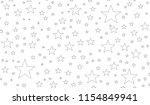 a seamless stars pattern | Shutterstock . vector #1154849941