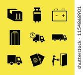 transportation vector icons set....   Shutterstock .eps vector #1154868901