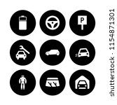 9 automotive icons in vector...   Shutterstock .eps vector #1154871301