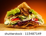 Kebab   Grilled Meat  Bread An...