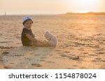cute baby child  sweet boy ...   Shutterstock . vector #1154878024