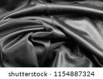 black texture   dark wavy...   Shutterstock . vector #1154887324