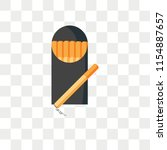 cigarettes vector icon isolated ... | Shutterstock .eps vector #1154887657