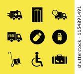 transportation vector icons set....   Shutterstock .eps vector #1154891491