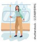 vector cartoon illustration of...   Shutterstock .eps vector #1154895991