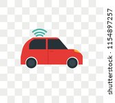 car vector icon isolated on...   Shutterstock .eps vector #1154897257