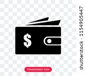 wallet filled money tool vector ... | Shutterstock .eps vector #1154905447