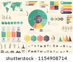 travel and tourism. infographic ... | Shutterstock .eps vector #1154908714