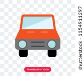 car vector icon isolated on...   Shutterstock .eps vector #1154911297